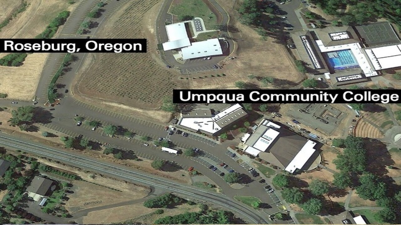 10 people killed in Oregon college shooting