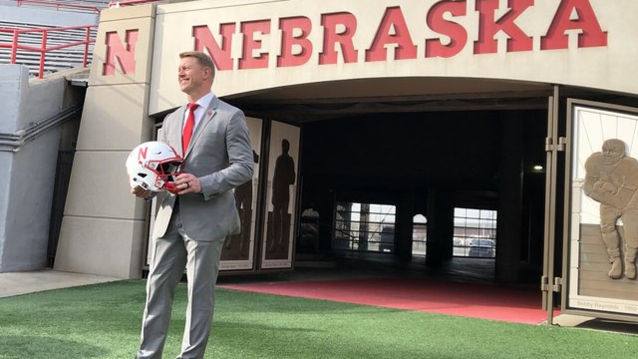 Scott Frost, Moos and Husker football staff to tour Nebraska in June