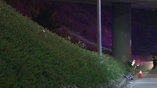 Woman with stab wounds wanders onto San Diego freeway lanes