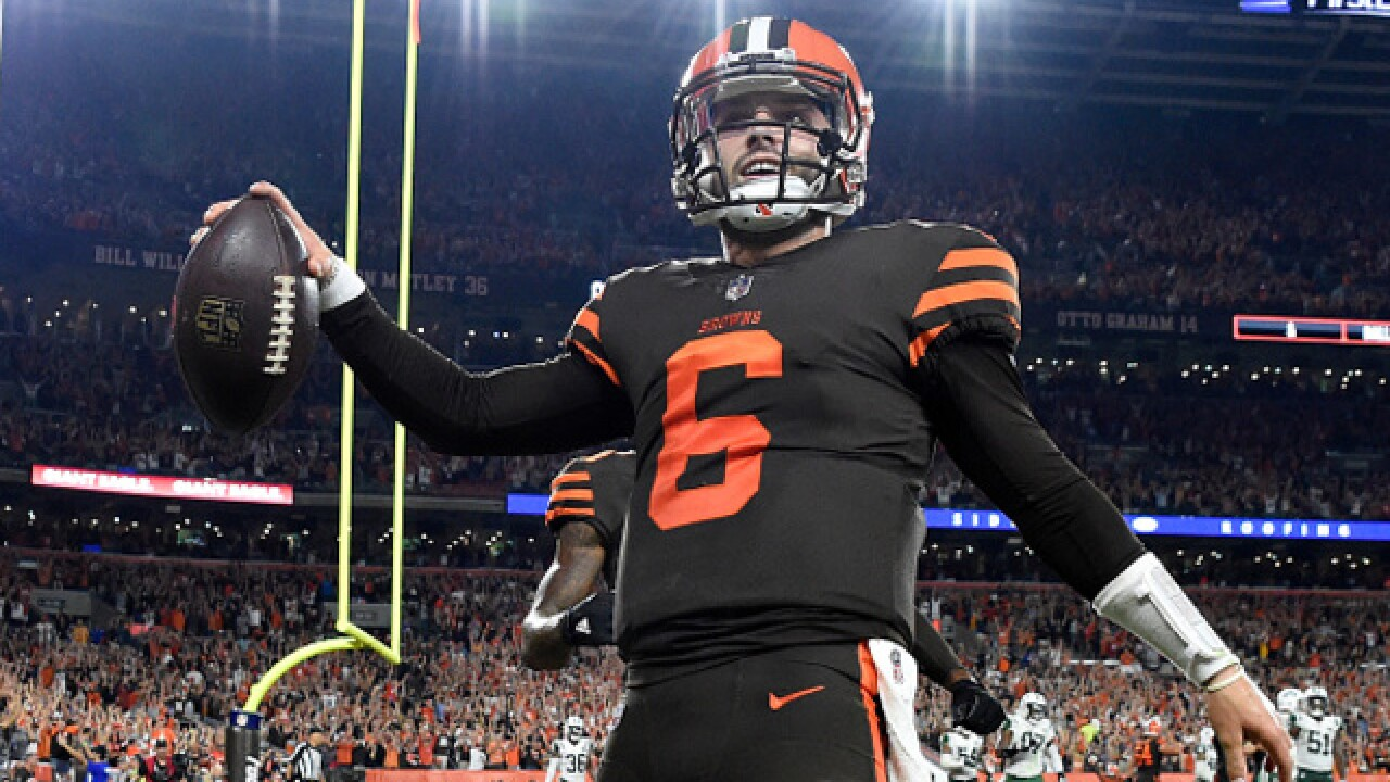 reputable site 3b9d5 f1d67 Cleveland Browns making Color Rush their primary uniforms ...