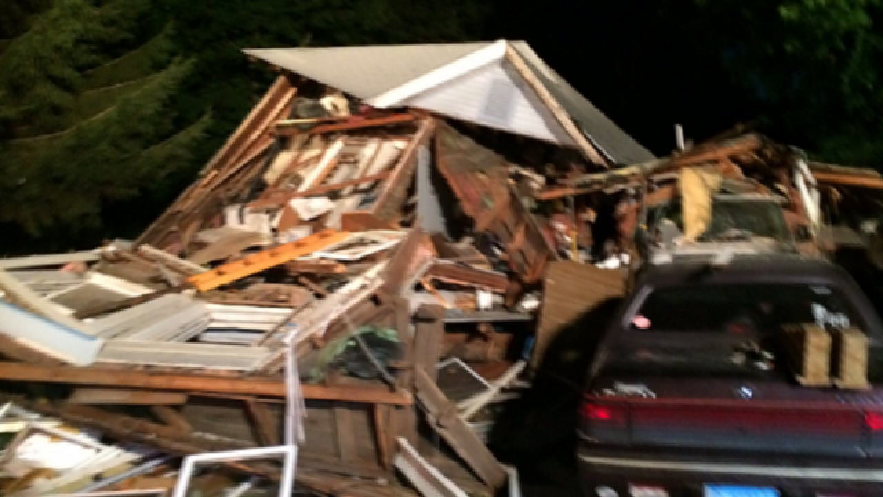 7 people injured when Conn. home collapses