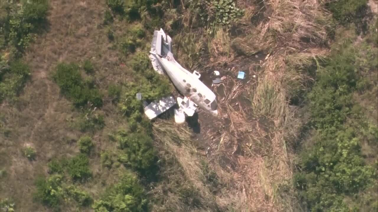 Victims injured in Palm Beach County plane crash identified as Indiana family
