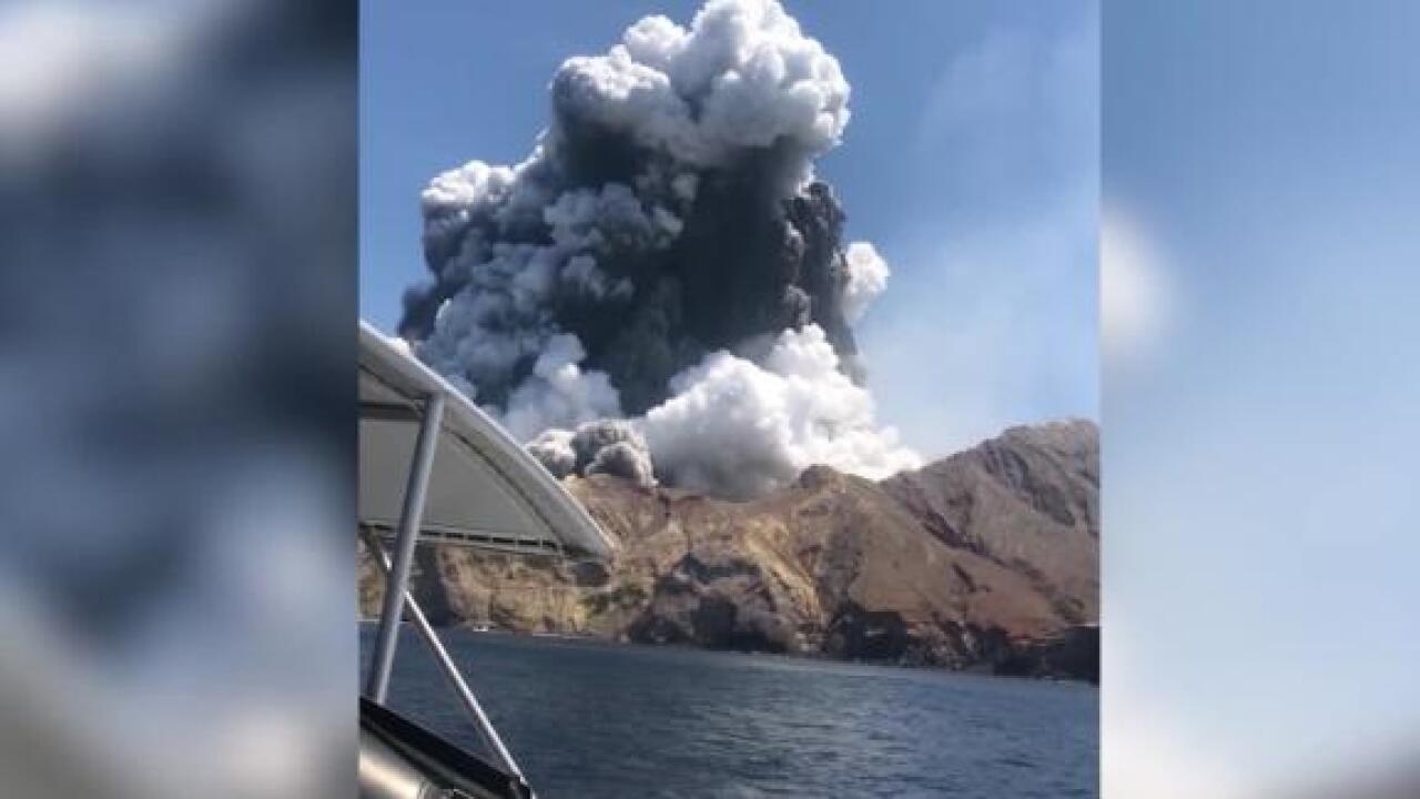Survivors of New Zealand volcano eruption describe horrific scene as they rescued others