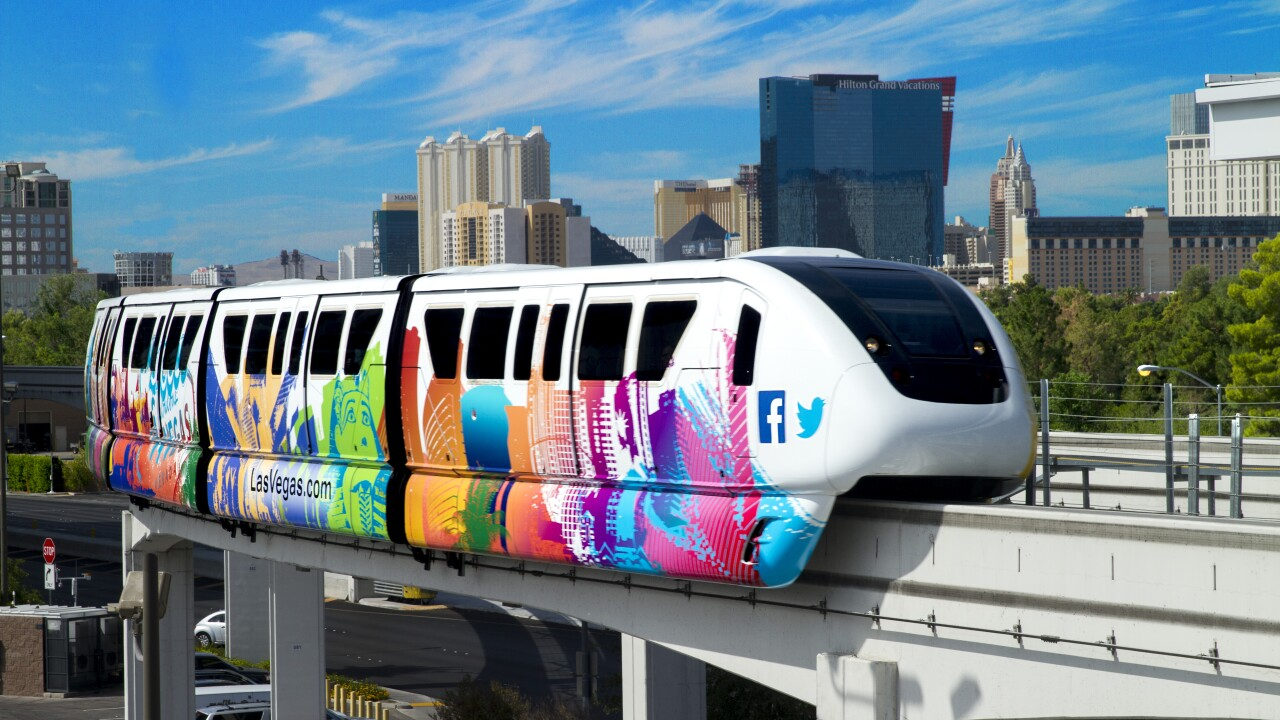 las vegas monorail for free with myvegas app
