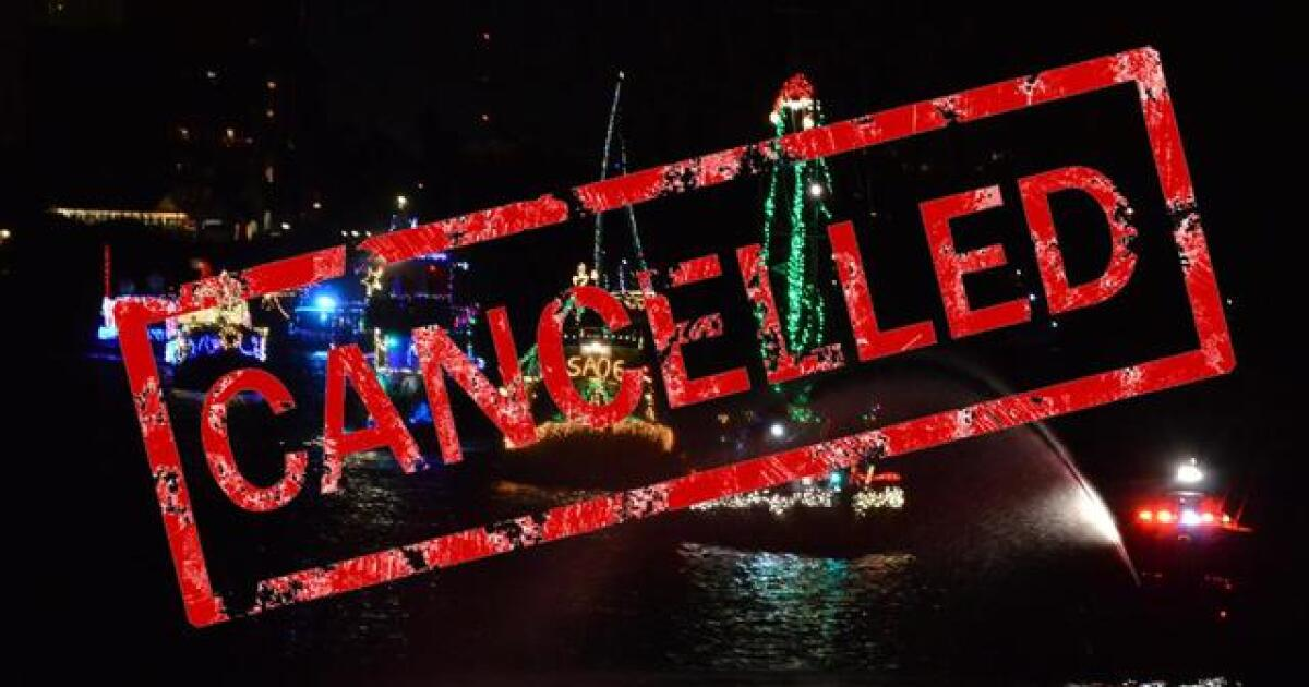 St Petersburg Christmas Parade 2020 St. Pete Beach and South Pasadena Lighted Boat Parade canceled for