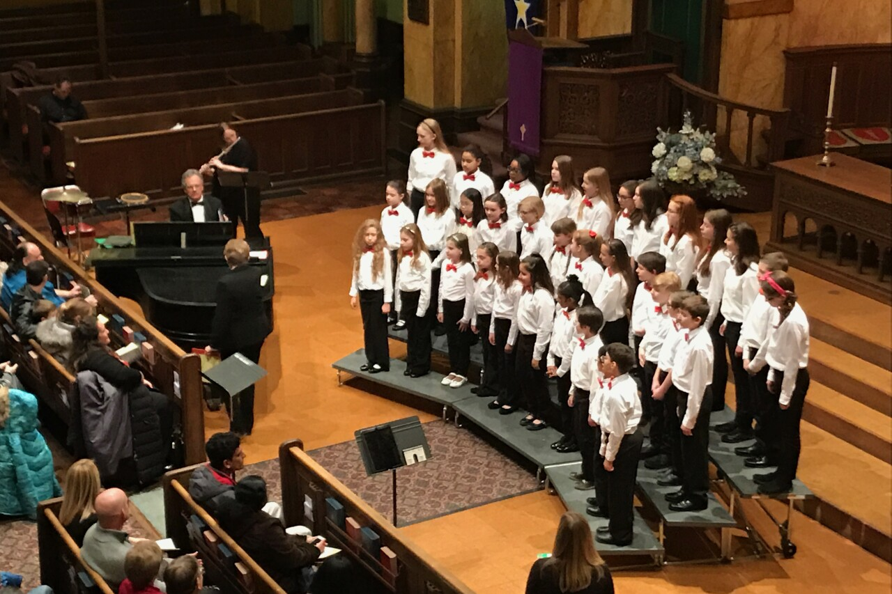 The choir is not able to perform live this year, so they've gone virtual