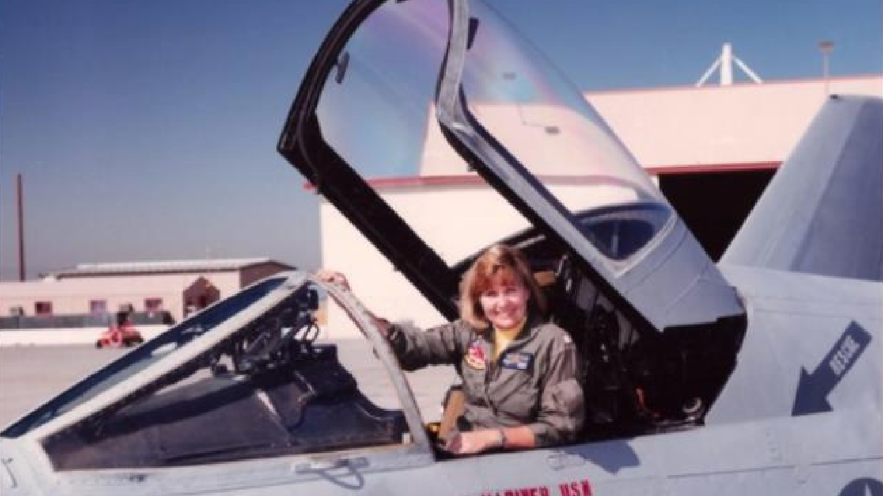 All-female flyover to honor life of first Naval woman jet pilot