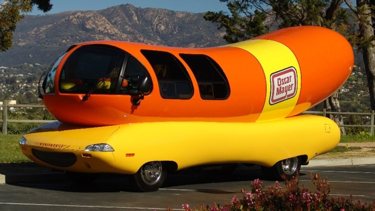 Oscar Mayer Wienermobile to visit Phoenix this weekend, March 16-19