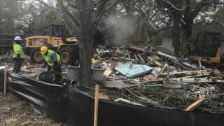 Demolished! Vacant home in Largo torn down