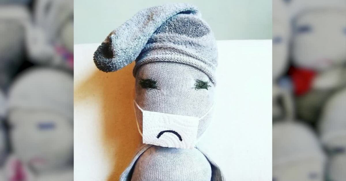 Frowny Face Doll
