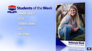 Students of the Week: Katie Friez and McKenzie Mork of Forsyth High School