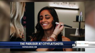 Get pampered at The Parlour at CityFlatsHotel