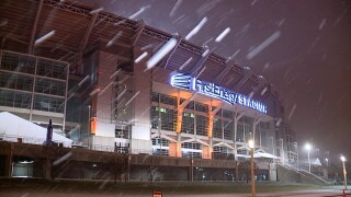 Snow Browns stadium.jpg