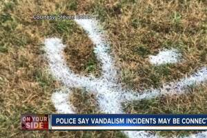 Blue Ash vandals painted swastikas on kids' soccer fields