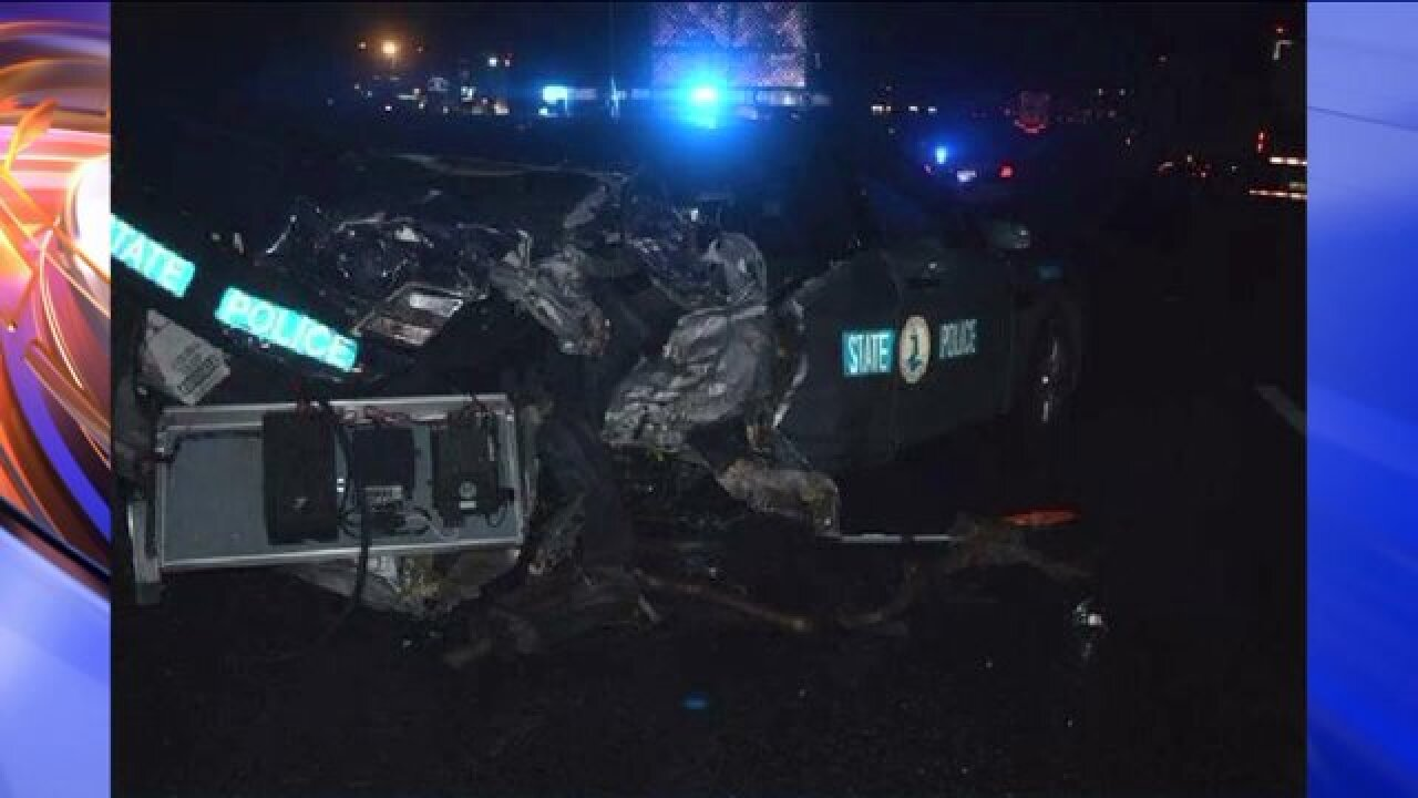 Virginia State Trooper expected to survive tractor trailer incident on I-95