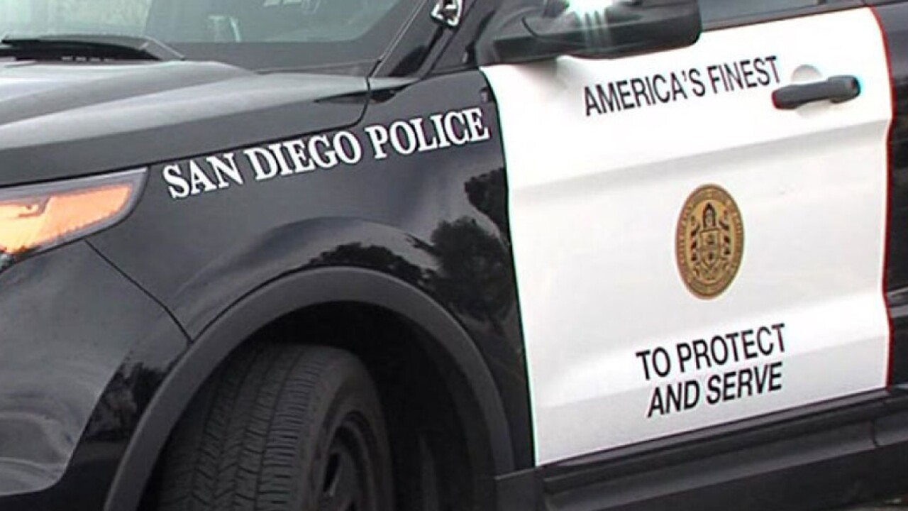 San Diego police officer injured during arrest of woman at