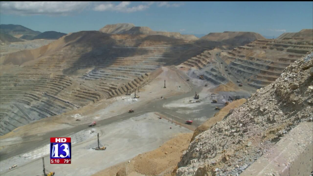 Rio Tinto Kennecott deploys drones to monitor mine operations