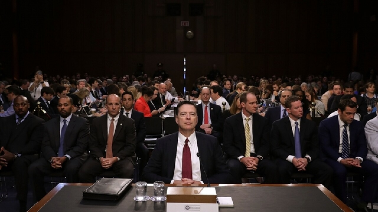 James Comey's Senate testimony nearly matches NBA Finals in TV ratings