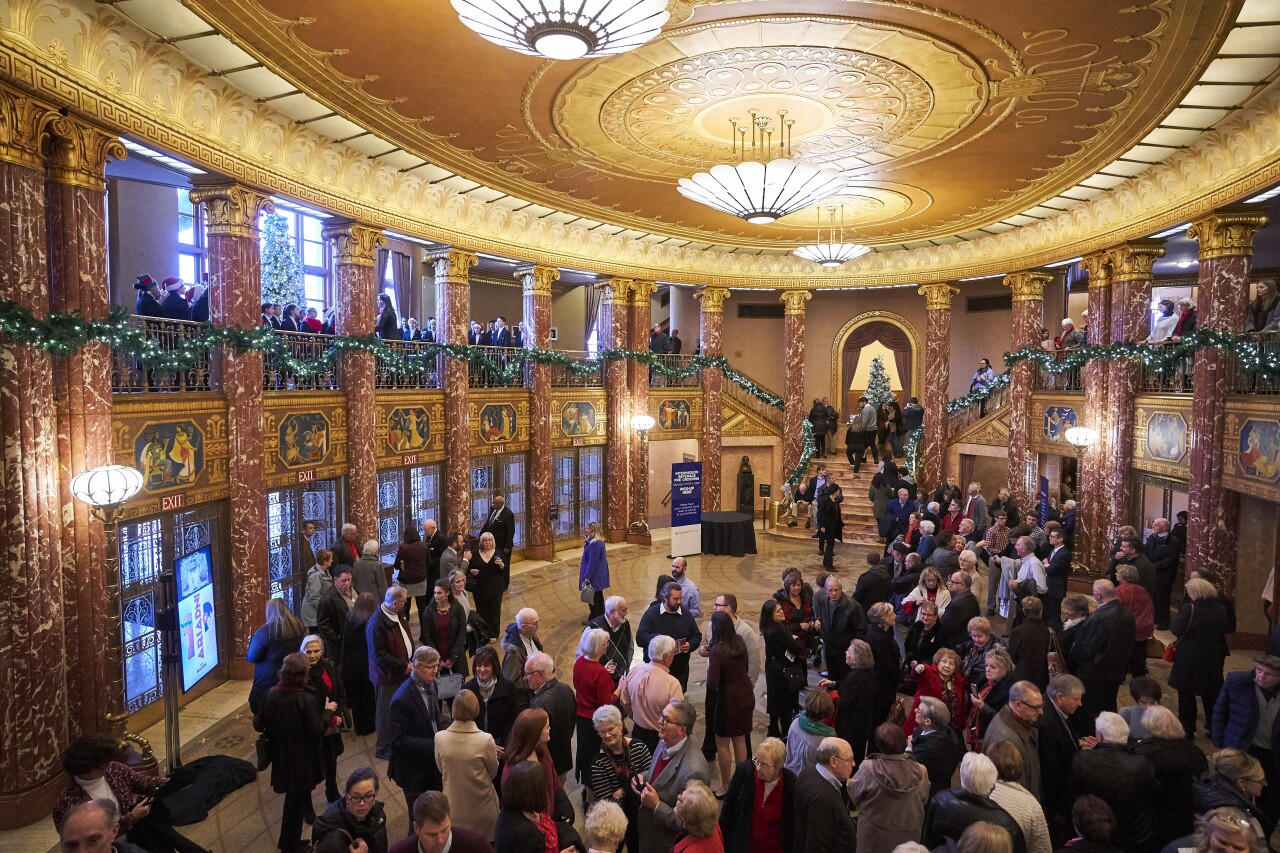 Christmas Concerts Grand Foyer_by Roger Mastroianni.
