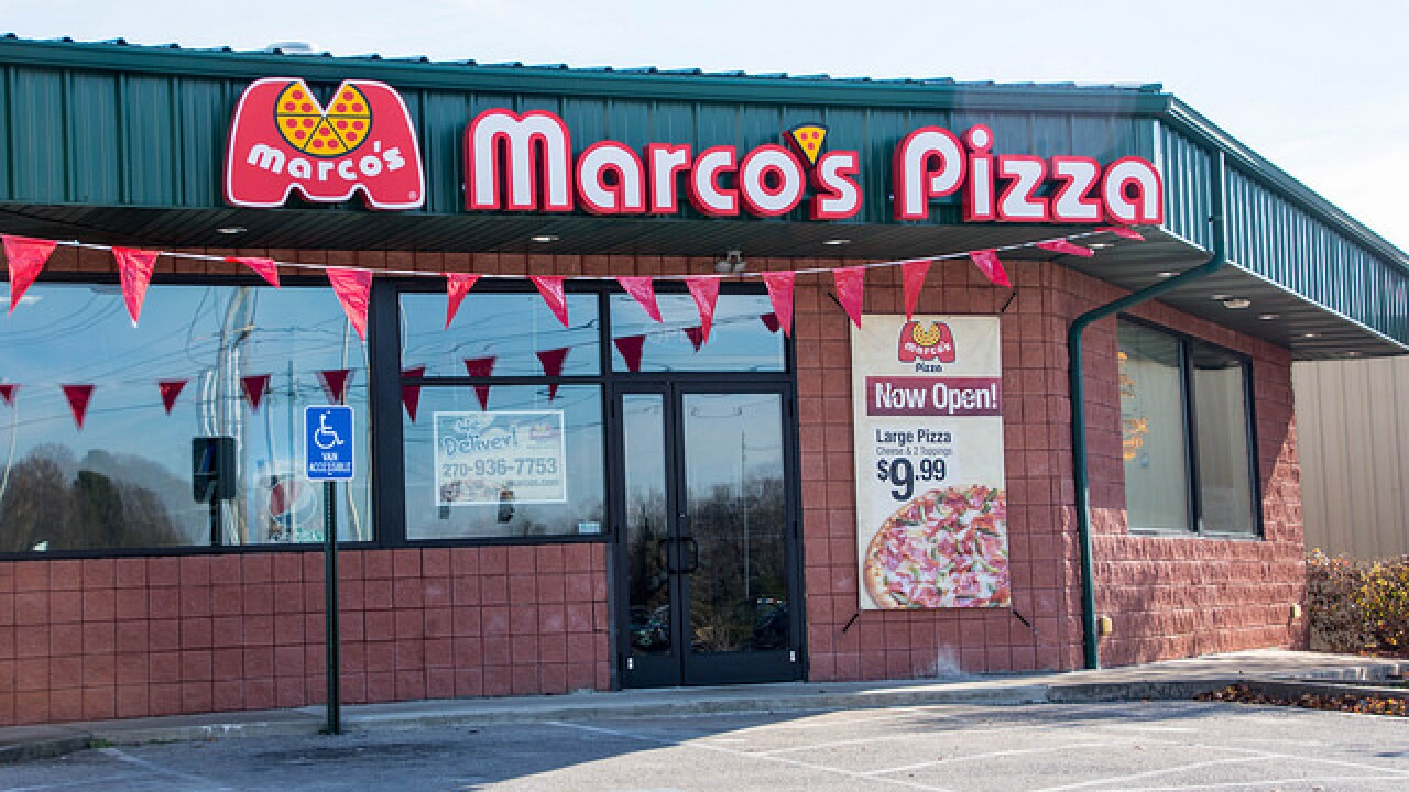Marco's Pizza looking to bring six locations to Tulsa