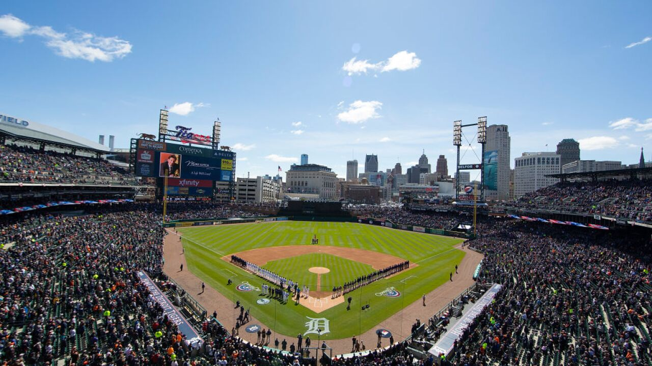 Detroit Tigers opening day 2018
