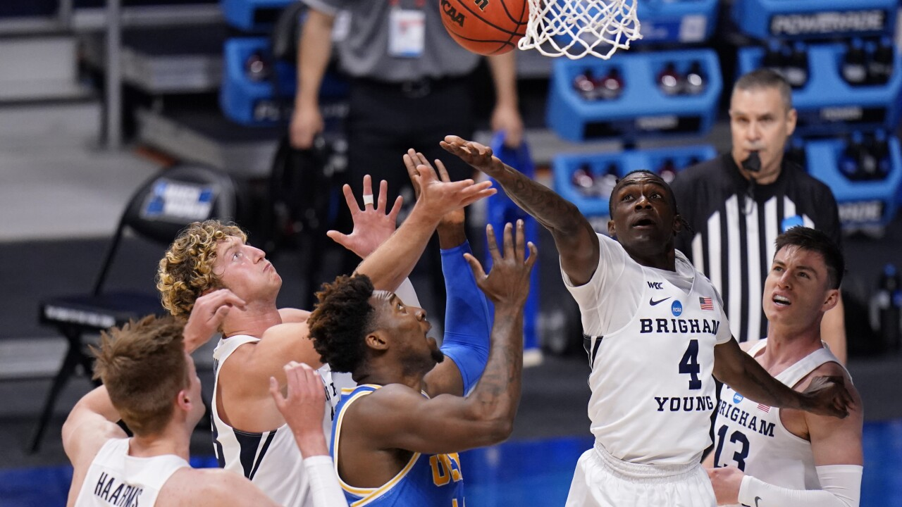 NCAA BYU UCLA Basketball