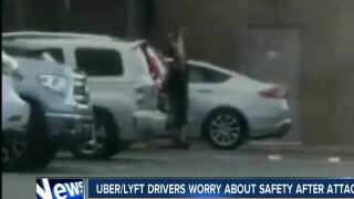 Uber/ Lyft drivers worry about safety after attacks