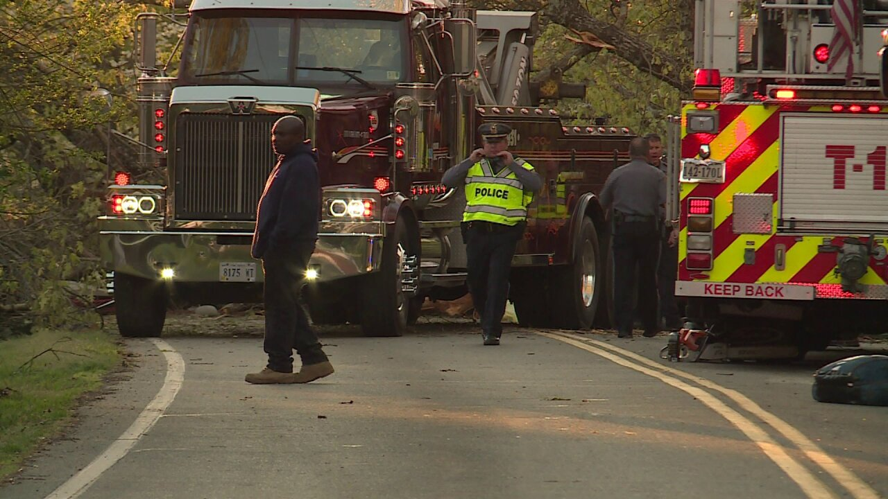Woman killed in Henrico after oak tree falls on car