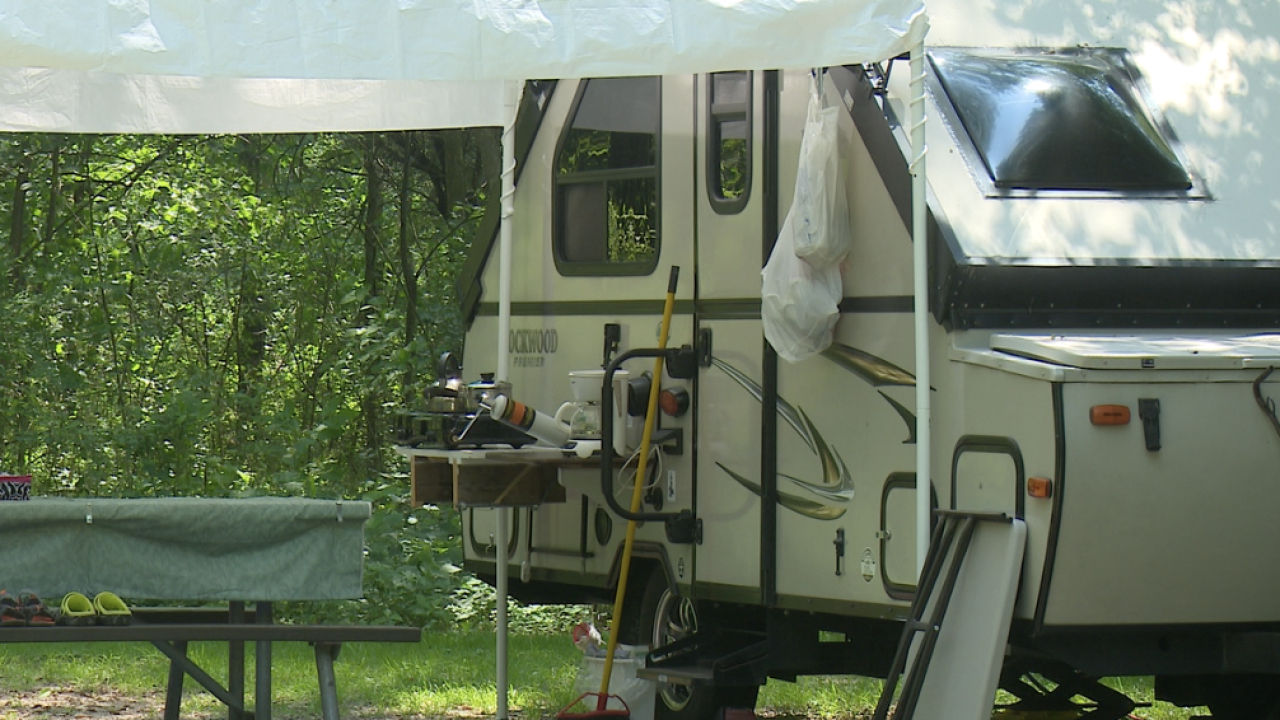 Fort Custer Recreation Area Campground