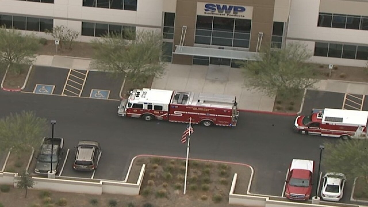 NOW: 2 people burned at Surprise facility
