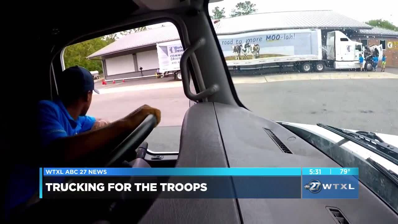 Florida's young military members wanted for future in truck driving