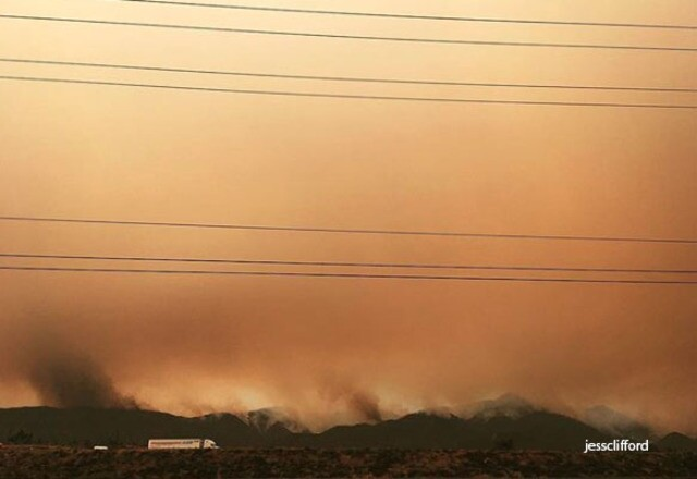 PHOTOS: Holy Fire burning in Orange County explodes in size