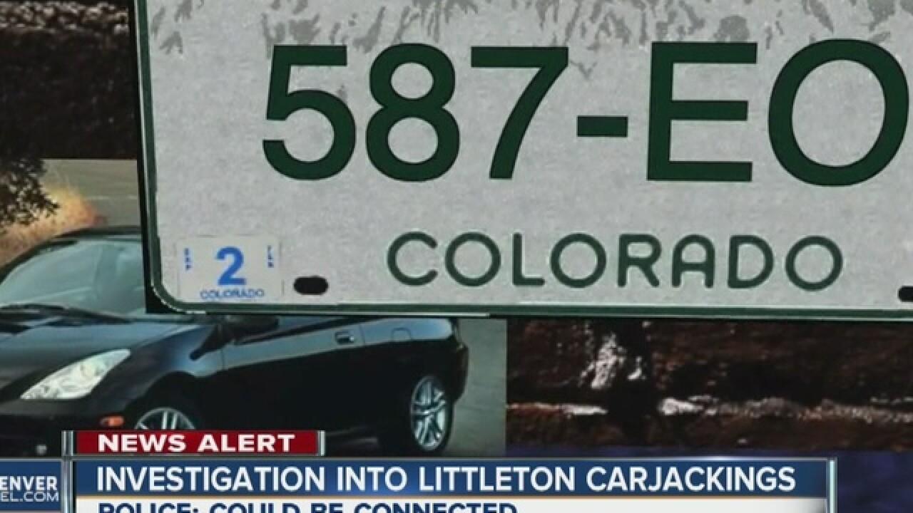 Carjacking suspect taken into custoday