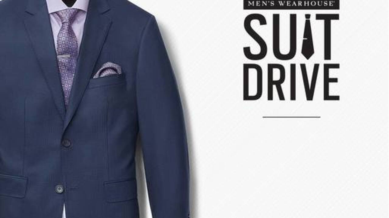 Men's Wearhouse Suit Drive