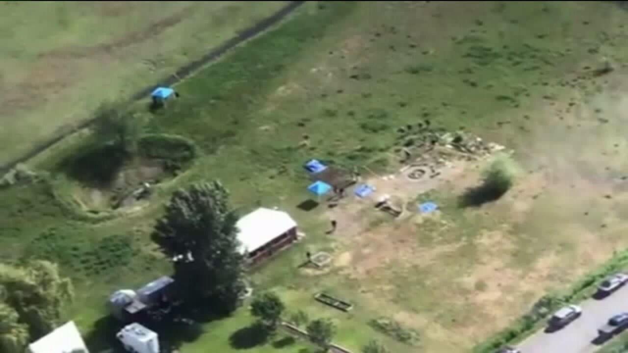 Aerial View of Chad Daybell's Property in Salem, Idaho