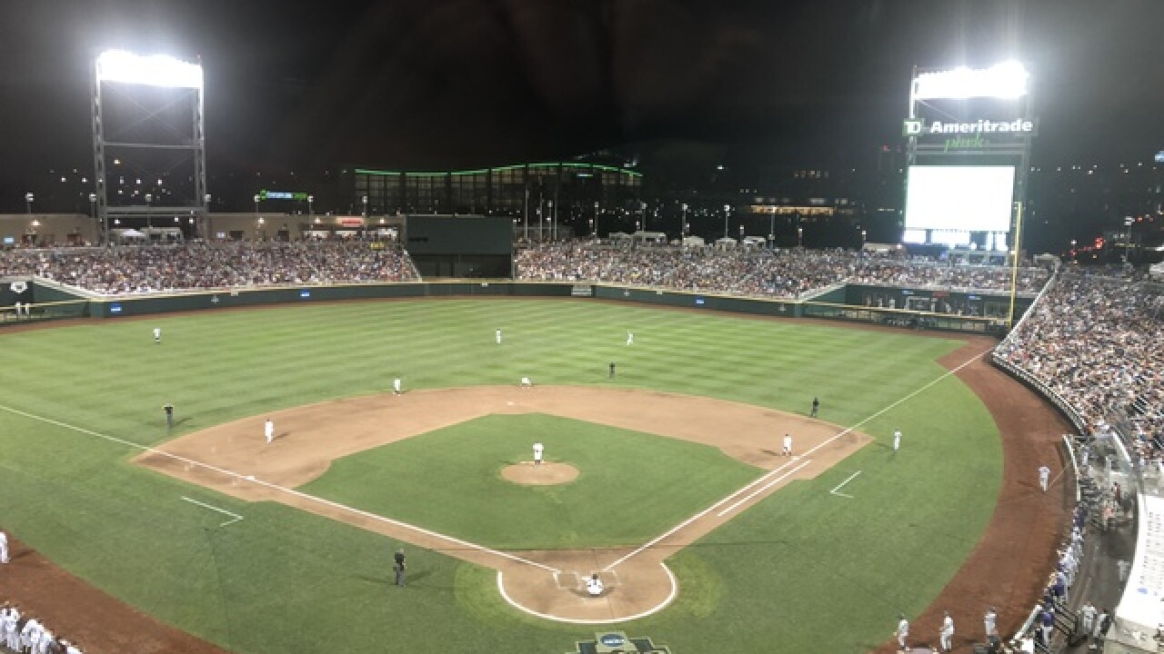 College World Series: Mississippi State knocks off Washington with third walk-off of postseason