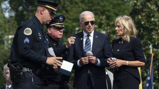 Joe Biden, Jill Biden, Jimmy Holderfield, James Smallwood