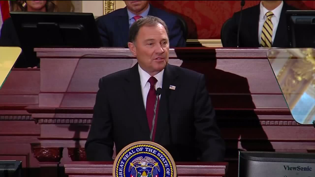 Governor Herbert: 'The state of our state is truly exceptional'