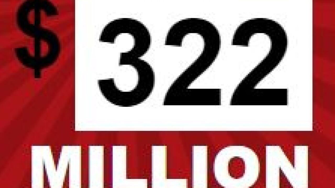 Powerball Drawing Wednesday Night Offers 322 Million Jackpot