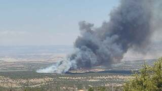 Dragon Fire near Rangely_June 8 2021_Rio Blanco County Sheriff's Office