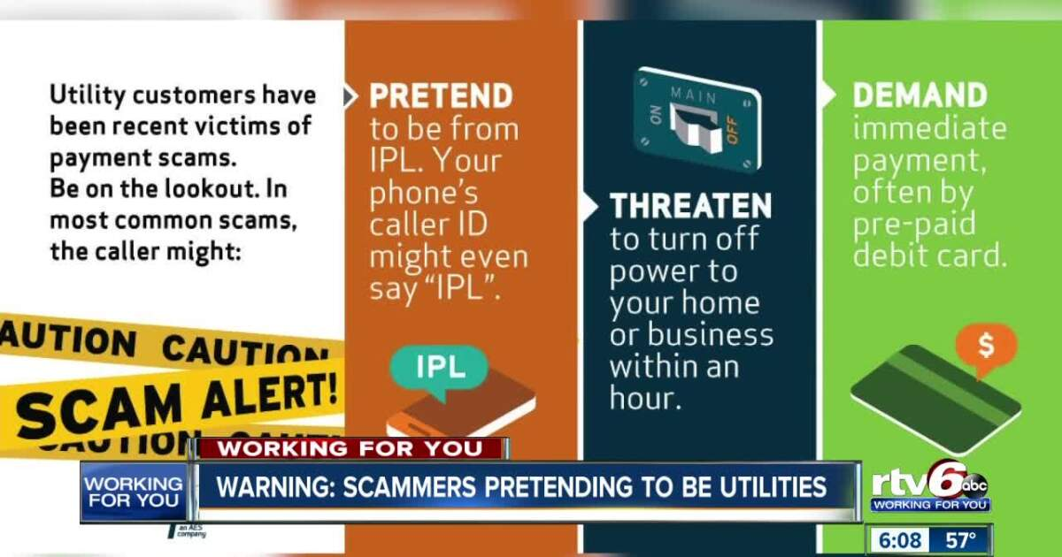 Beware of utility scammers during storm season