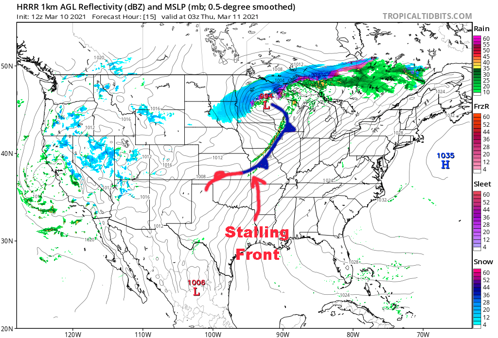 9 PM Surface Map