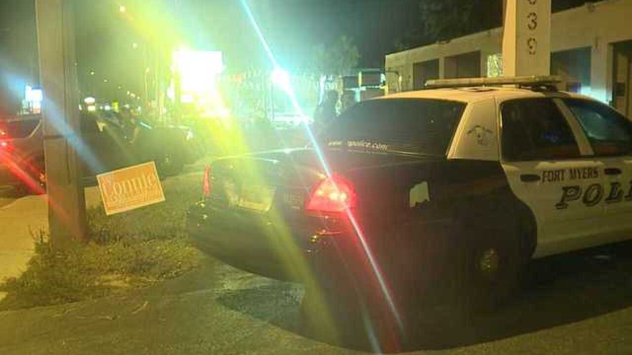 Police presence in Fort Myers area overnight