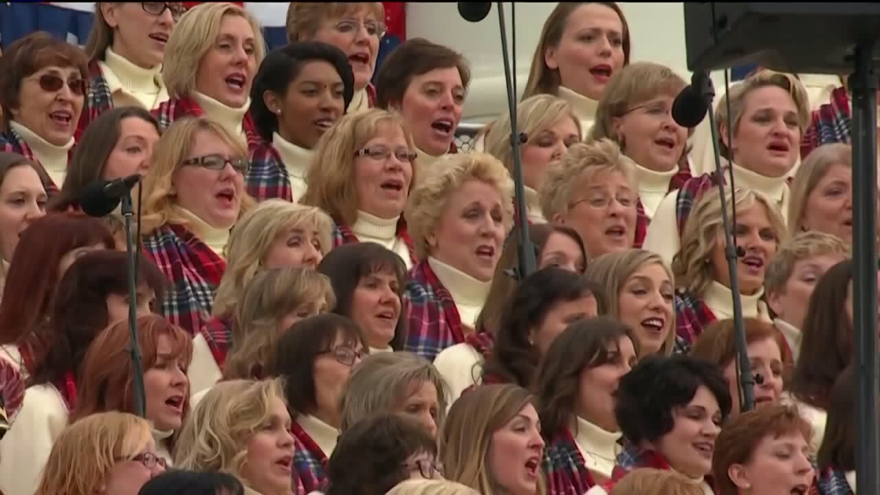Listen to the Mormon Tabernacle Choir sing 'America the Beautiful' on Inauguration Day