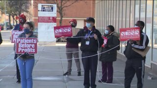 harlem hospital nurse rally coronavirus