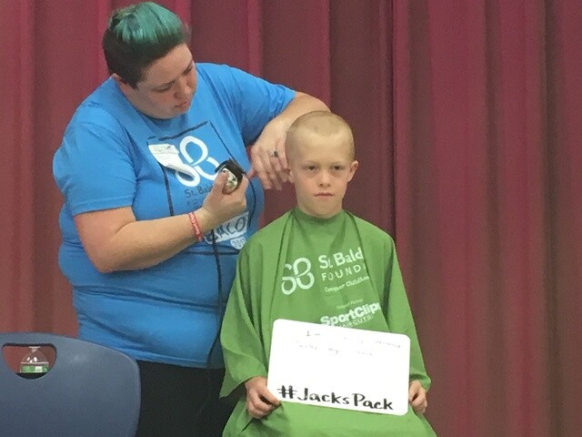 PHOTOS: Broad Ripple Little Leage hosts St. Baldrick's head-shaving event for cancer research