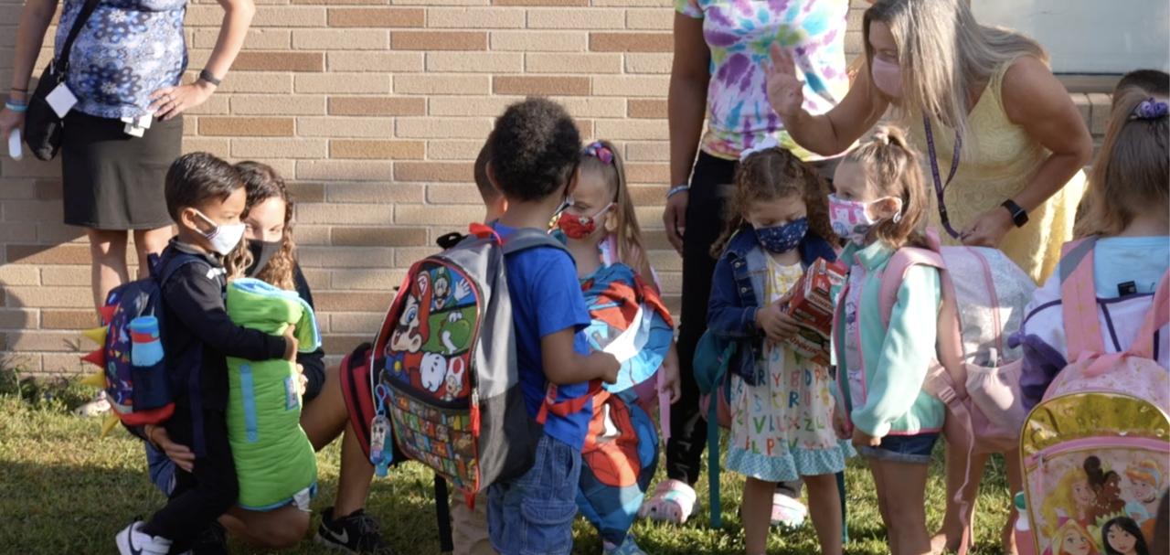 Preschool class at Forrest View