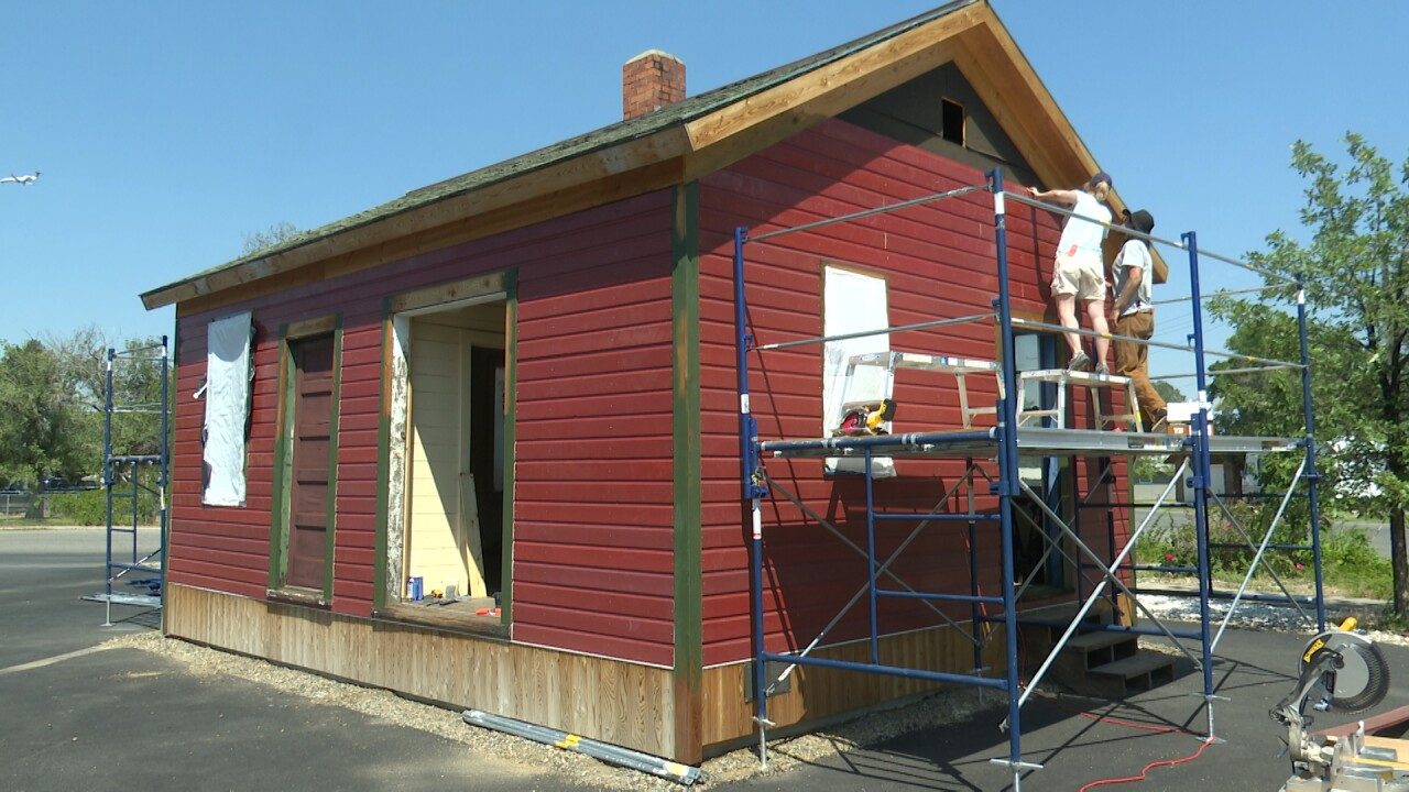 East Helena Depot Restoration