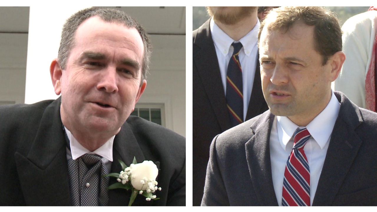Perriello and Northam tied in gubernatorial race; party divide blamed