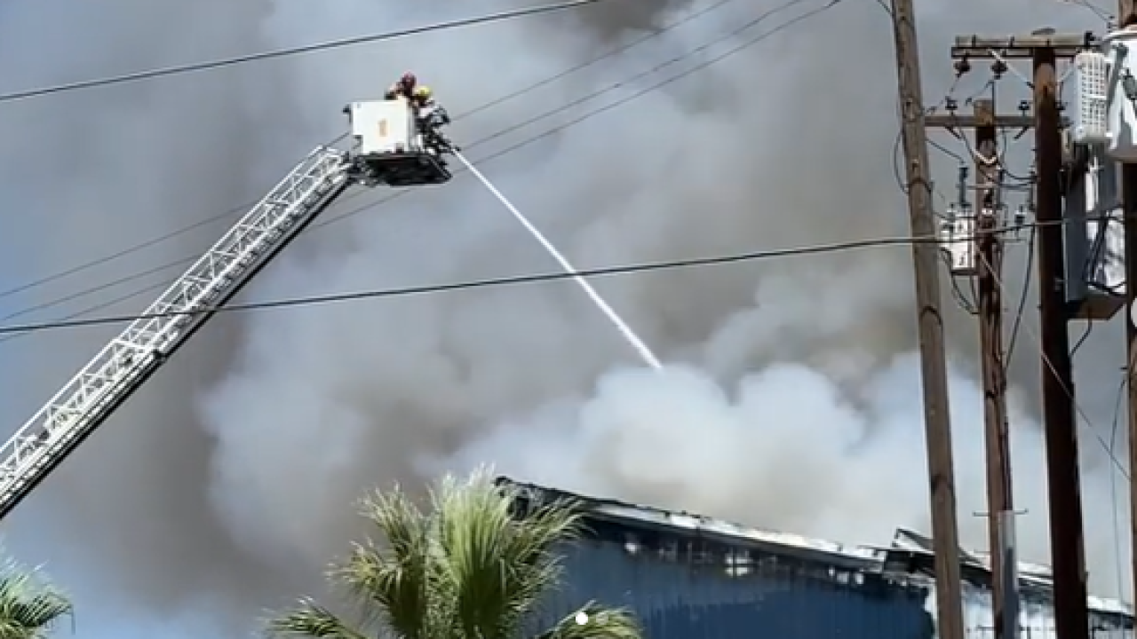 Drake Equipment Fire